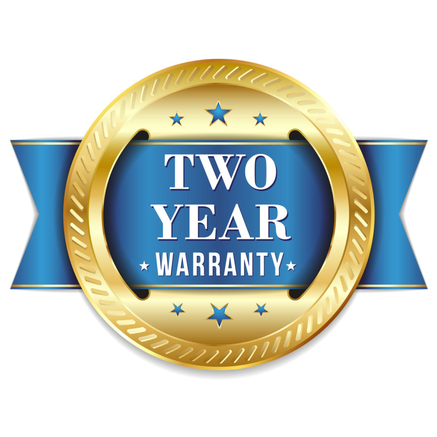 Emblem 2 year warranty