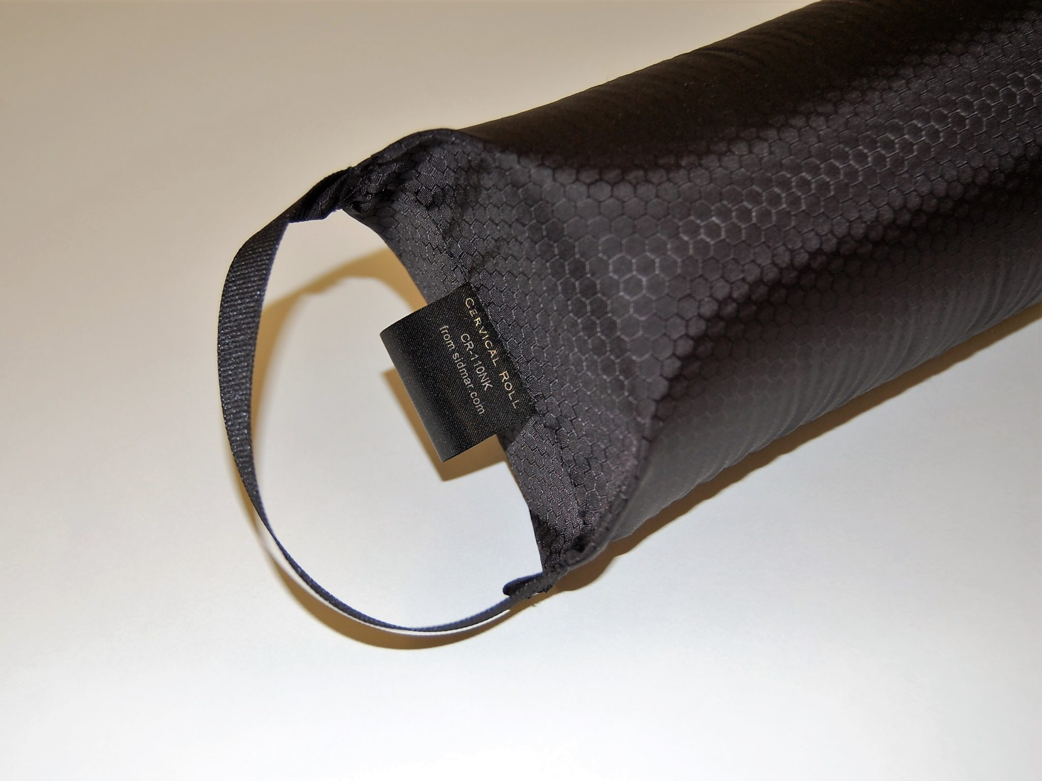 cervical roll handle closeup