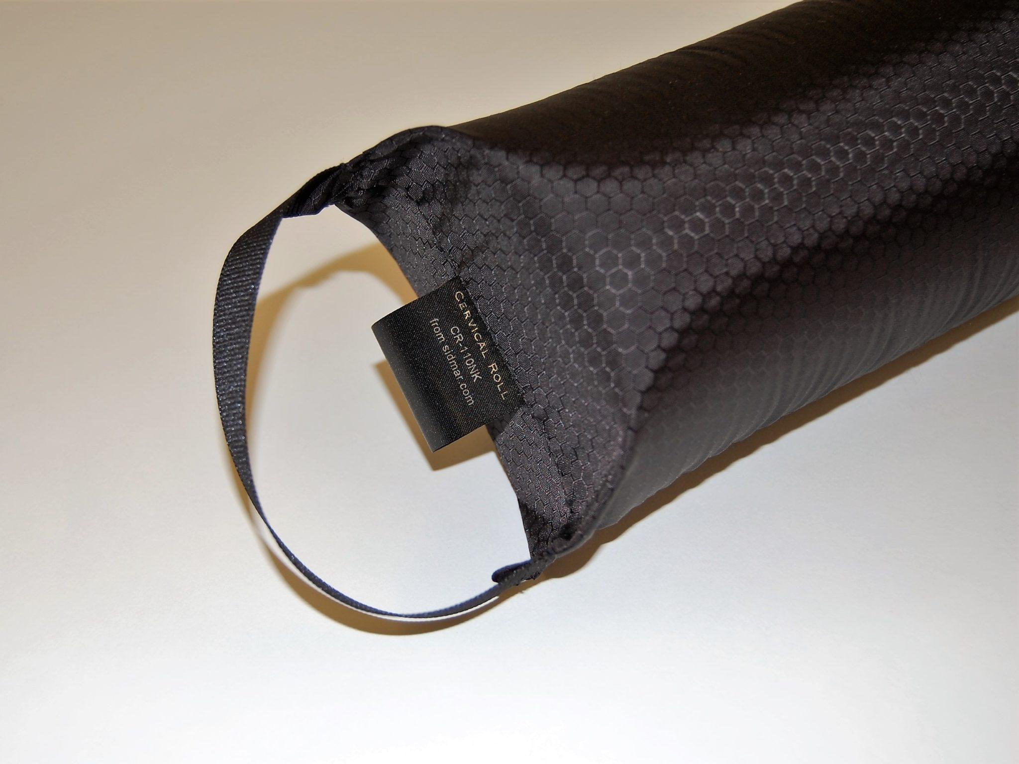 cervical roll handle closeup