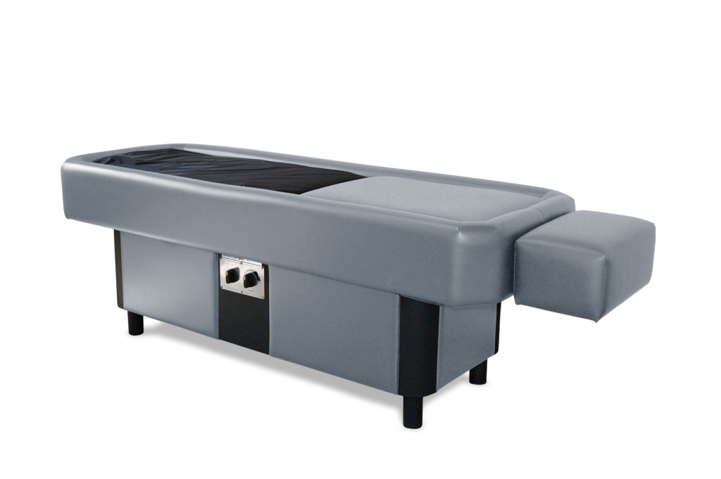 gray hydromassage table