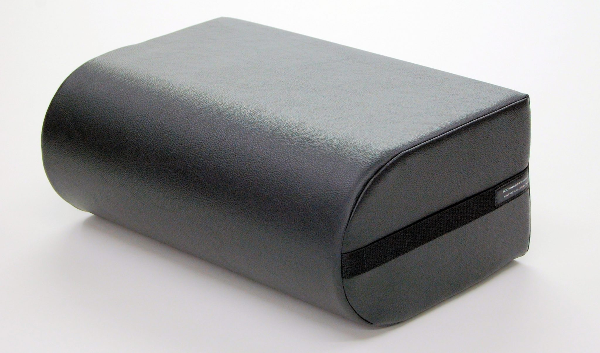angled view of leg bolster laying on the side