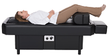 black hydromassage table business use