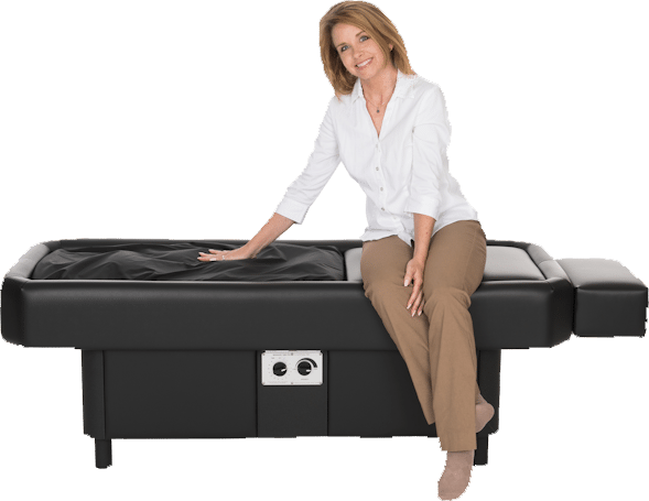 hydromassage table